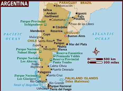 argentina 2 map argonne