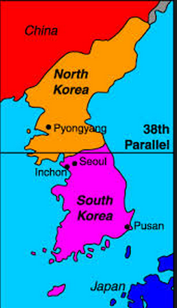 korea 38th parallel